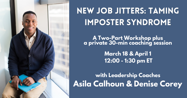 New Job Jitters: Taming Imposter Syndrome